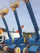 Aichi. Самоходная вышка производства Японии на колесном ходу, 12,5м., 12 м.