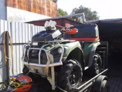 Kawasaki Brute Force 750. исправен, есть птс, с пробегом