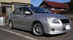 Порог пластиковый. Toyota Corolla Axio, ZRE142, NZE141, NZE144, ZRE144. Под заказ