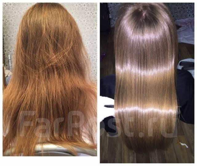 Кератиновое выпрямление волос tokyo honma