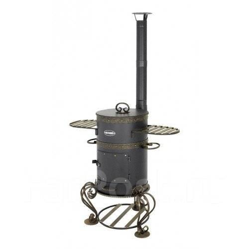 Печь везувий казан 12 литров дымоход дымоход для газового котла навесного открытая камера сгорания