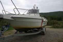 Yanmar. длина 6,50м., двигатель стационарный, 50,00л.с., дизель