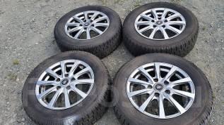 Шикарные диски Manaray Sport зимние шины Toyo Garit G4. 6.0x15 5x114.30 ET50