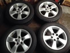 Оригинальные диски Toyota R16 + отличная зима 205/60R16 остаток 95%. 6.5x16 5x114.30 ET50 ЦО 60,1мм.