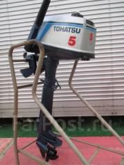 Tohatsu. 5,00л.с., 2х тактный, бензин, нога L (508 мм), Год: 1992 год