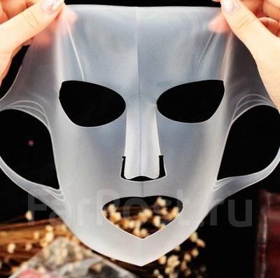 Силиконовая маска для лица многоразовая
