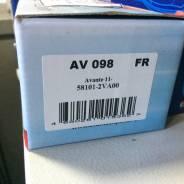 Колодка тормозная. Hyundai Avante, HD Hyundai HD