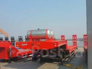 Cimc. Полуприцеп трал 90 тон, 90 000 кг.