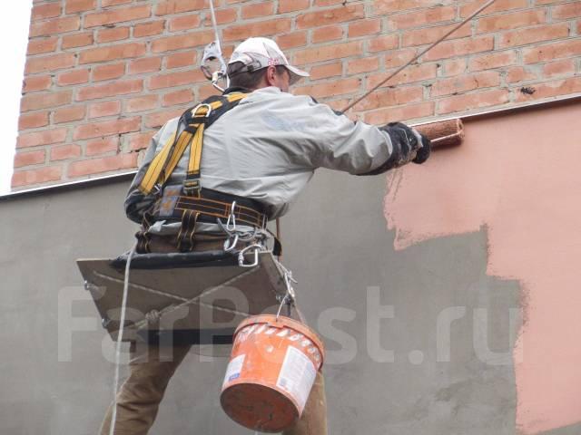 Покраска и теплоизоляция фасадов. На все виды работ гарантия.