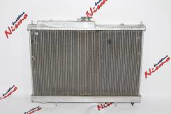 Радиатор охлаждения двигателя. Nissan Skyline, ER33, ER34, HR34, ENR33, BNR34, HR33, ENR34, BCNR33, ECR33 Двигатели: RB25DET, RB20DET