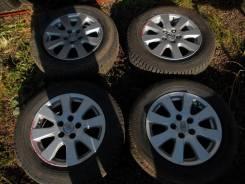 Оригинальные литые диски Toyota Camry (40) Dunlop sp winter ice. 6.5x16 5x114.30 ET45.5 ЦО 60,1мм.