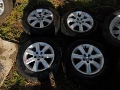 Оригинальные литые диски Volkswagen Polo Nokian Nordman 195/65R15. 6.0x15 5x100.00 ET-40 ЦО 57,1мм.