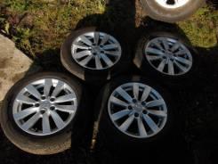 Оригинальные колеса Kia Cerato с шинами Nexen Nblue HD 205/55/R16. 6.5x16 5x114.30 ET48 ЦО 67,1мм.
