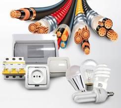 Электротовары и кабельная продукция