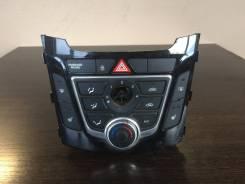 Блок управления климат-контролем. Hyundai i30