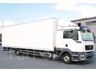 MAN TGL. 12.250, 2011г, кузов фургон, длина 9.3 м, без пробега по РФ, 7 000кг., 4x2. Под заказ