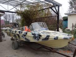 Казанка-5М. Год: 1981 год, длина 4,60м., двигатель подвесной, 40,00л.с., бензин