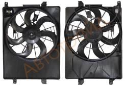 Диффузор радиатора в сборе KIA SPORTAGE / HYUNDAI IX35 2.0/2.4 10- SAT ST-HY14-201-0