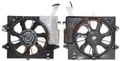 Диффузор радиатора в сборе KIA PICANTO/MORNING 11- SAT ST-KA03-201-0