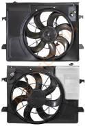 Диффузор радиатора в сборе KIA CERATO 09- SAT ST-KA44-201-0
