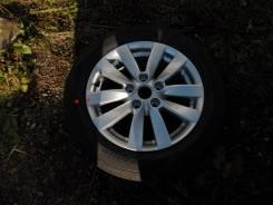 Запасное колесо для Kia Cerato Nexen Nblue HD 205/55/R16. 6.5x16 5x114.30 ET-50 ЦО 67,1мм.