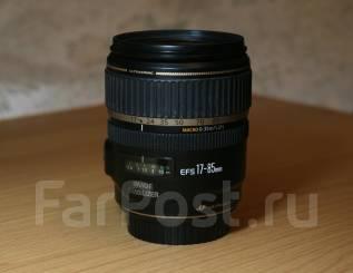 Canon EF-S 17-85mm f/4 IS USM Стильный Зум Объектив со Стабилизатором!. Для Canon, диаметр фильтра 67 мм