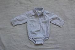 Боди-рубашки. Рост: 68-74, 74-80 см