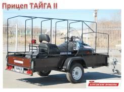 Прицеп для снегохода Тайга2 Размеры 3,3x1,37м. Под заказ из Владивостока