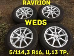 Ravrion. 6.5x16, 5x114.30, ET38