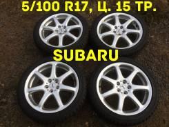Subaru. 7.0x17, 5x100.00, ET55