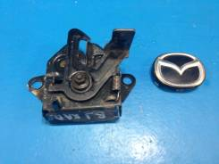 Замок капота. Mazda 323 Mazda Familia, BJFP, BJ5P, BJEP, BJFW, BJ5W, BJ3P, BJ8W Mazda Protege Двигатель ZL