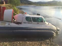 """Продам катер на воздушной подушке """"Славир-5"""". Год: 2010 год, длина 5,20м., двигатель стационарный, 173,00л.с., бензин"""
