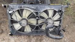 Радиатор охлаждения двигателя. Toyota Vista, ZZV50 Toyota Vista Ardeo, ZZV50, ZZV50G Двигатель 1ZZFE