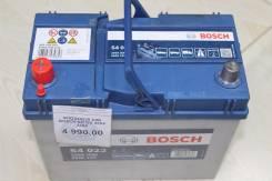 Bosch. 45 А.ч., левое крепление, производство Европа