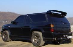 Обвес кузова аэродинамический. Nissan Terrano, LBYD21, VBYD21, WBYD21, WHYD21 Nissan Cedric