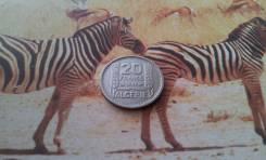 Французский Алжир. Нечастые 20 франков 1949 года. В сохране!