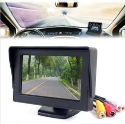 """4.3"""" Автомобильный цветной LCD-монитор. Под заказ из Кемерово"""