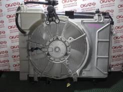 Радиатор охлаждения двигателя. Toyota Vitz, KSP90