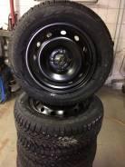 Pirelli formula ice 185/65 r15+штампованные диски 4x100 r15. 6.0x15 3x98.00, 4x100.00 ET45 ЦО 60,1мм.