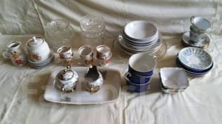 Посуда, столовые приборы.