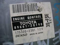 Блок управления двс. Toyota Corona, ST210 Toyota Corona Premio, ST210 Двигатели: 3SFE, 3SFSE