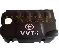 Крышка двигателя. Toyota: Corolla, Yaris, WiLL Cypha, Succeed, Echo Verso, Vitz, XA, Ractis, Soluna Vios, Corolla Fielder, Platz, Corolla Spacio, Scio...