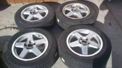 Комплект литых колес Impul RS с зимней резиной 205/65R-16 Bridgestone. 7.0x16 5x114.30 ET38 ЦО 73,0мм.