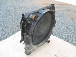 Радиатор охлаждения двигателя. Mazda Titan, WGLAD Двигатель SL