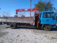 Грузоперевозки. Услуги грузовика 5т. с манипулятором от 900 (24 часа)