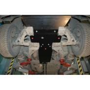 Защита картера Chevrolet TrailBlazer 2001-2012г.в. Шериф Стальная