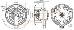 Мотор отопителя салона LEXUS GS300/400/430 97-05/RX300 97-03/SC430 01-10