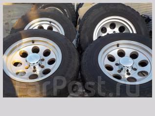 Продам колёса Mickey Thompson на грязевой резине. 8.0x16 6x139.70 ET0 ЦО 108,0мм.