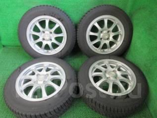 Продам комплект колес Yokohama Ice Guard IG30 165/70R14. 5.5x14 4x100.00 ET47 ЦО 67,0мм.