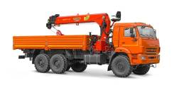 Камаз 43118 Сайгак. Бортовой автомобиль 65861 с КМУ ИТ-150 Palfinger на шасси Камаз-43118, 12 000 куб. см., 9 200 кг.